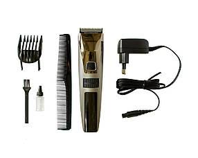 Професійна Акумуляторна Машинка для Стрижки Волосся Gemei GM 802 5W КОД: 10041
