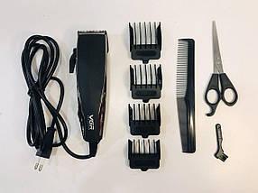 Машинка для стрижки волосся VGR V 033 Чорний КОД: 10534