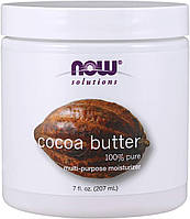 Масло какао нау фудс Now Foods Cocoa Butter 207 ml