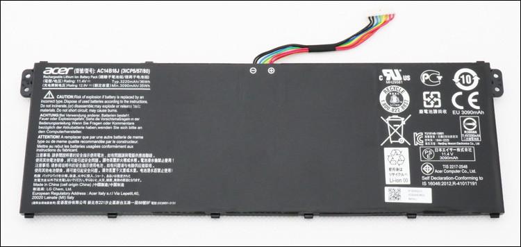 Оригинальная батарея для ноутбука Acer V3-111P, V3-112P, V3-331, V3-371, V3-372 - AC14B18J - АКБ
