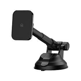 Автотримач для телефону магнітний універсальний Usams 360° 2в1 трансформер Чорний КОД: 2280