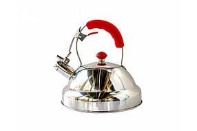 Чайник для плиты Giakoma G 3308 3 л Серебристый  КОД: 10386