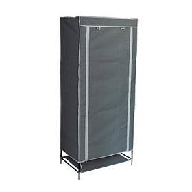 Портативний шафа-органайзер Wardrobe 1 секція Сірий КОД: 45060004