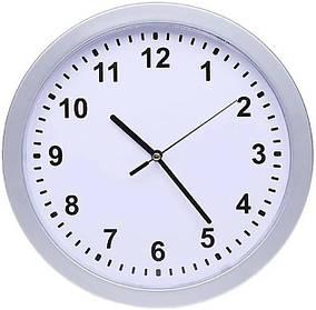 Настенные часы с сейфом MHZ SAFE CLOCK 7031, белые КОД: 012086
