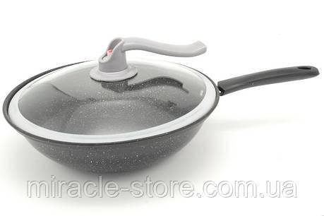 Вакуумная сковорода Wok 32 см пароварка, фото 2