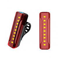 Велосипедний задній ліхтар usb, акумуляторний DL-A02 Raylight