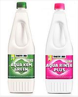 Комплект засобів для біотуалету Campa Green + Campa Rinse Plus, 1.5 л