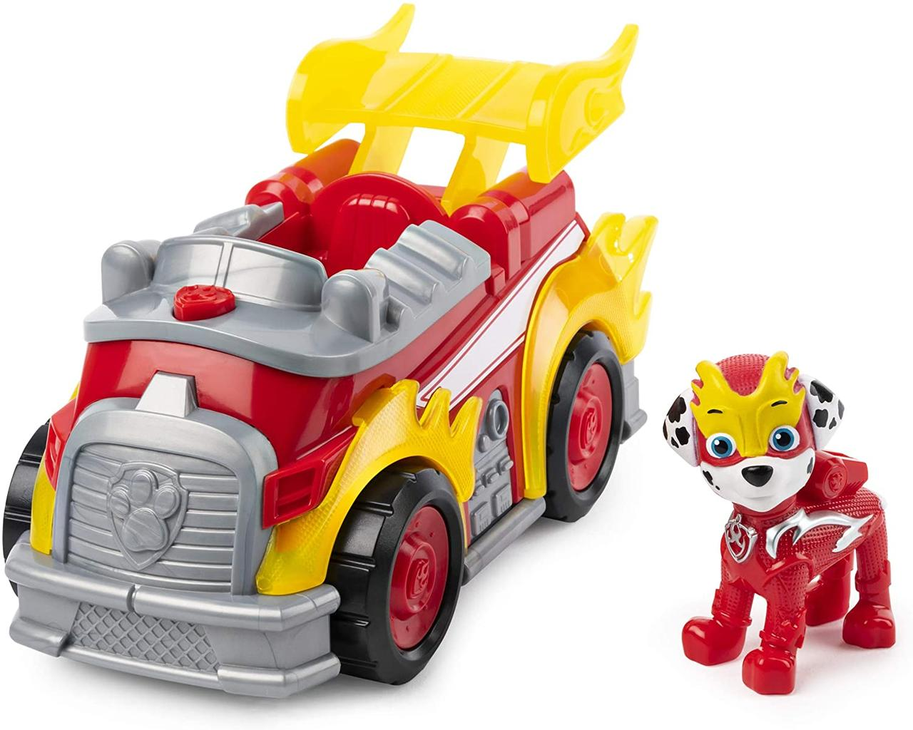 Paw Patrol Mighty Pups Super Paws Marshall's Deluxe Vehicle with Lights & Sound (Маршалл, звук, свет)