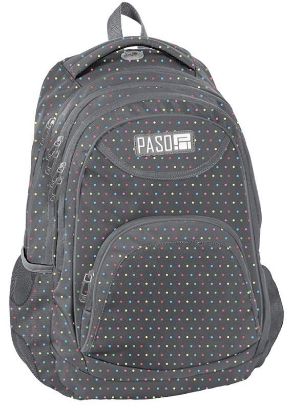 Городской рюкзак PASO, Польша 19L серого цвета