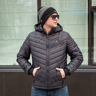 Демисезонная мужская куртка  от производителя 48-58  темно-синий