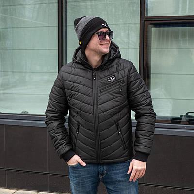 Куртки демисезонные мужские  от производителя 48-58  черный