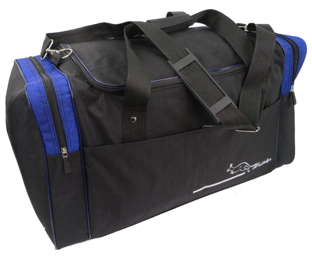 Дорожная сумка средняя 62 л Wallaby, Украина 437-5,  чёрный