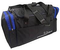 Дорожная сумка средняя 62 л Wallaby, Украина 437-5,  чёрный, фото 1