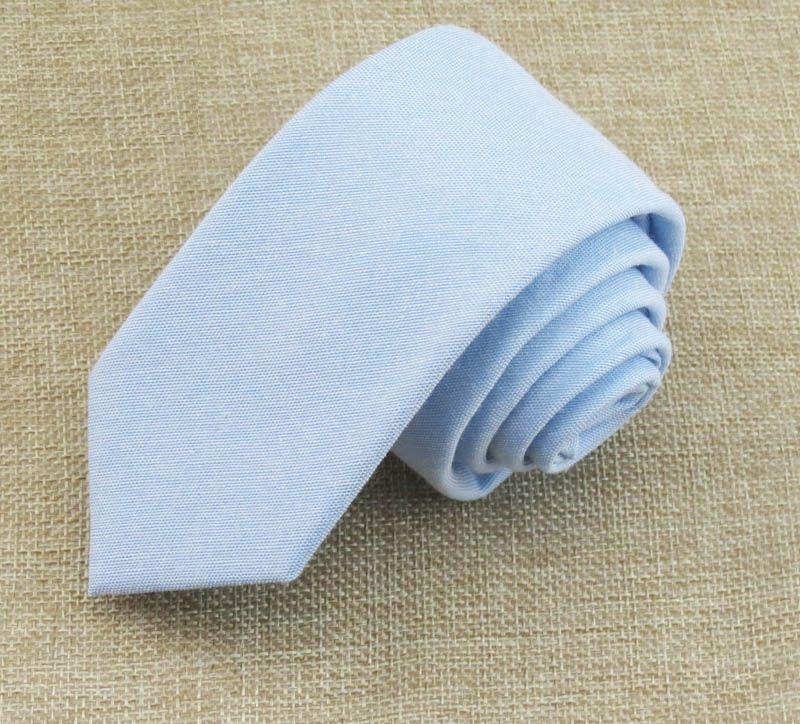 Вузький краватку блакитний GNK-4705