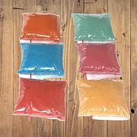 Набор цветного песка из 6-ти цветов для детского творчества, анимации