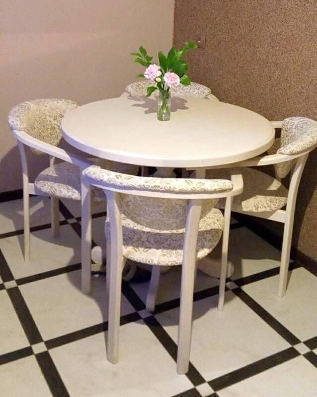 Круглый кухонный стол  К-3 GOOD WOOD Рускополянский Мебельный Комбинат Явир