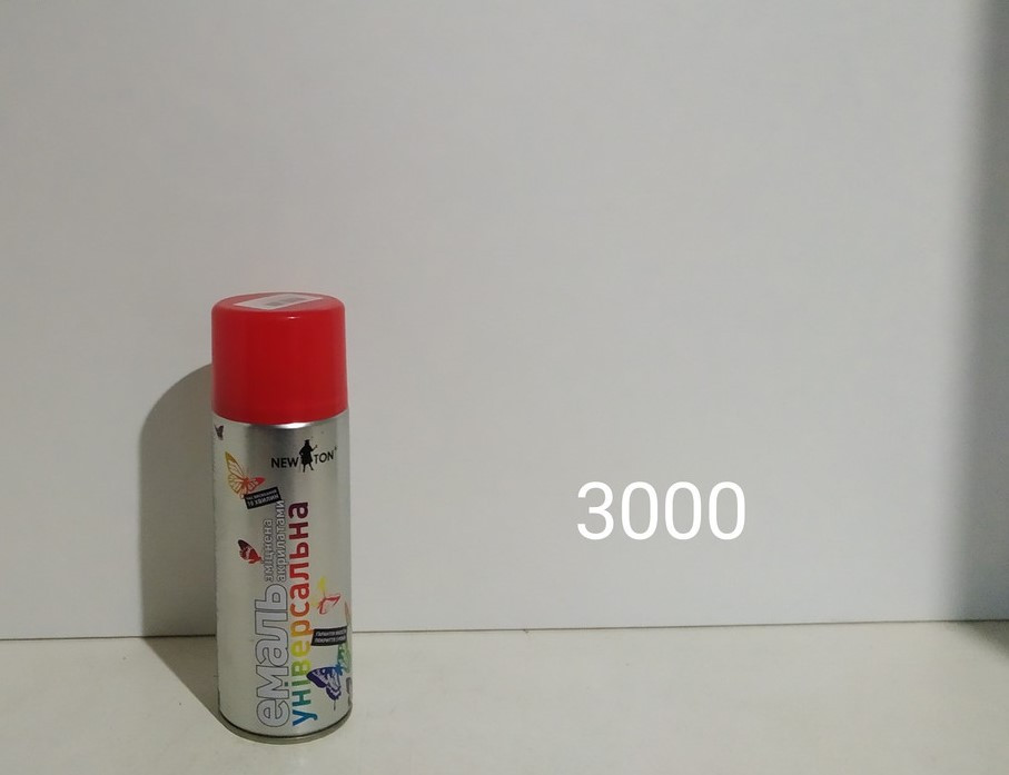 NewTon краска аэрозоль 3000 400гр (красная  глянцевая)