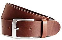 Детский кожаный ремень под брюки H&M коричневый, фото 1