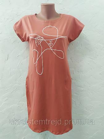 Платье туника женская