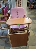 Стул деревянный,трансформер,переделывается в стол и стул