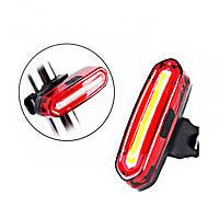 Велосипедный задний фонарь usb, акумуляторный DL-096  Raylight, фото 1