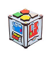 Кубик развивающий 17х17х18 с подсветкой К005