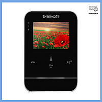 Видеодомофон аналоговый Intercom IM-01 Black