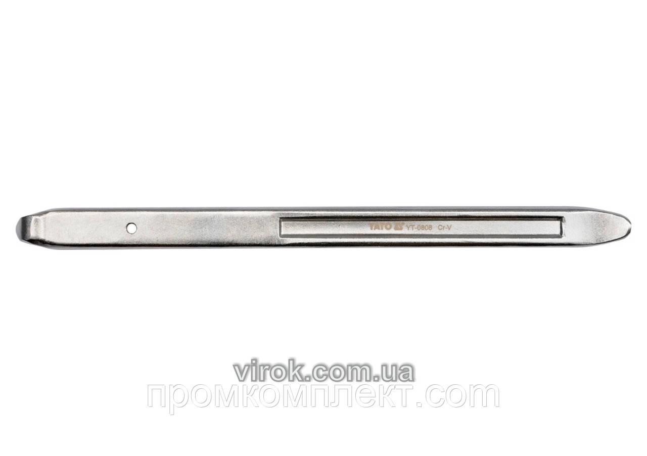 Важіль для шиномонтажу YATO з ручкою, l= 600 мм [5/20]