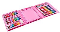 Набор для детского творчества в чемодане из 208 предметов Pink (3667)
