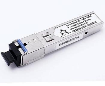 SFP 100Base-BX-D 1SM 1550/1330nm 20km DOM SC DDM Alistar