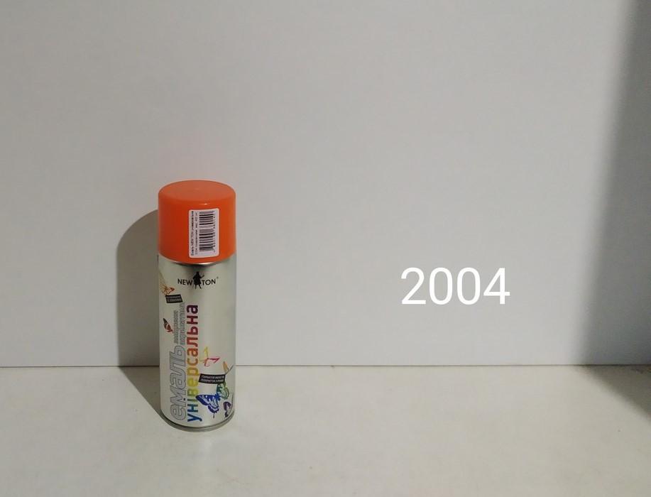 NewTon краска аэрозоль 2004 400гр (оранжевая  глянцевая)