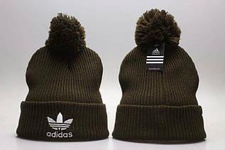 Шапка зимняя Adidas / SPK-346 (Реплика)