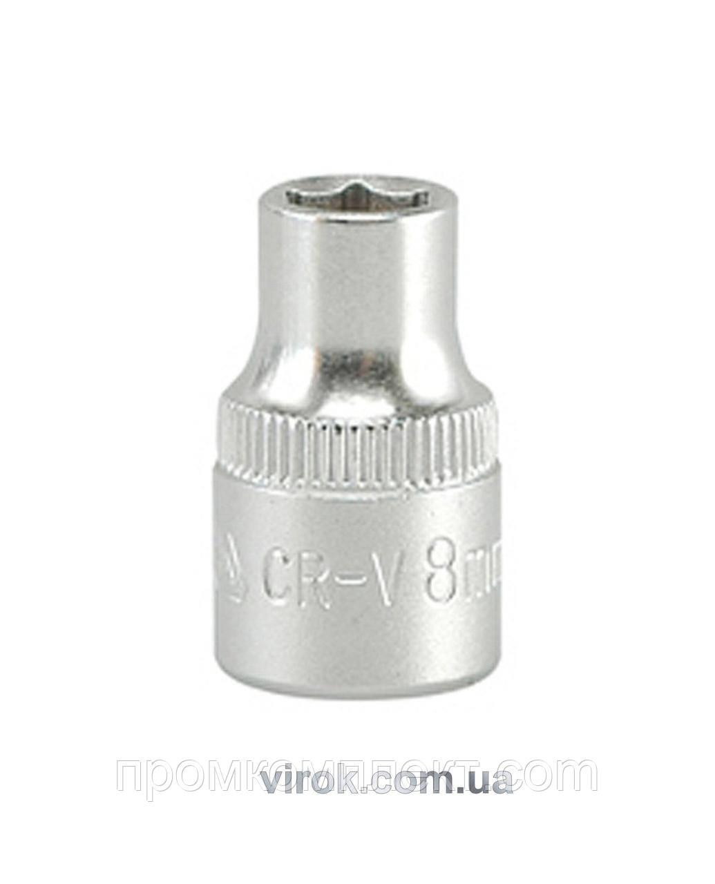 "Головка торцева шестигранна YATO 3/8"" М8 х 28 мм"
