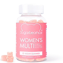 Витамины мишки Sugarbearhair Women's Multi Vegan Multivitamin