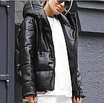 Теплая кожаная куртка, фото 2