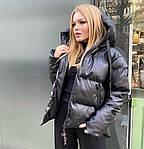 Теплая кожаная куртка, фото 4