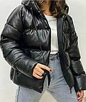 Теплая кожаная куртка, фото 5