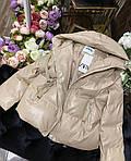 Теплая кожаная куртка, фото 9