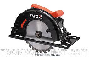 Пила дискова мережева YATO 1300 Вт диск 190 мм