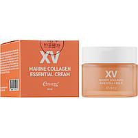 Ультраувлажняющий крем для лица с морским коллагеном Esthetic House Marine Collagen Essential Cream 50 мл, фото 2