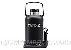 Домкрат гідравлічний стовбцевий YATO 15 т 231-498 мм