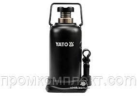 Домкрат гідравлічний стовбцевий YATO 20 т 241-521 мм