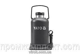 Домкрат гідравлічний стовбцевий YATO 30 т 244-492 мм