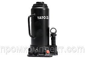 Домкрат гідравлічний стовбцевий YATO 10 т 230-460 мм