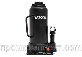 Домкрат гідравлічний стовбцевий YATO 12 т 230-465 мм