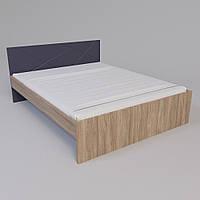 Ліжко Х-Скаут Х-16 (160*200) графіт мат