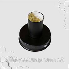 Світильник бра настінно-стельовий на 1-лампу BASE E27 чорний