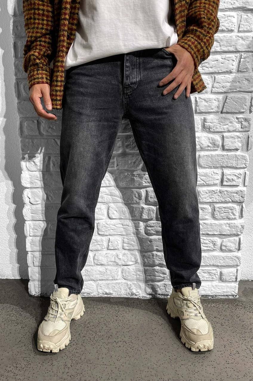 Чоловічі джинси МОМ Black Island 16 grey