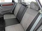 Чехлы на сиденья Пежо 206 (Peugeot 206) (модельные, экокожа Аригон+Алькантара, отдельный подголовник), фото 2