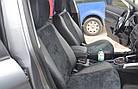 Чехлы на сиденья Пежо 206 (Peugeot 206) (модельные, экокожа Аригон+Алькантара, отдельный подголовник), фото 6